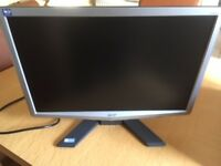 Acer LCD 19 inch monitor - excellent condition