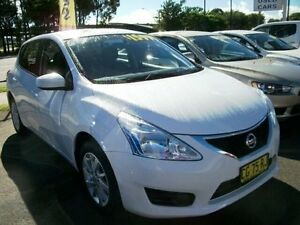 2015 Nissan Pulsar C12 Series 2 ST Polar White 1 Speed Constant Variable Hatchback South Grafton Clarence Valley Preview