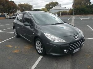 2007 Peugeot 307 MY06 Upgrade XS 1.6 Silver 4 Speed Tiptronic Hatchback Maylands Bayswater Area Preview