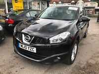 2011 Nissan Qashqai 2.0 Acenta 5dr AUTOMATIC, LOW MILEAGE, 16,250 MILES ONLY
