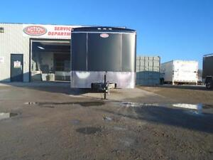 SCREWLESS ENCLOSED AUTO HAULER/CARGO 8 X 20' ATLAS -LOWEST PRICE London Ontario image 2