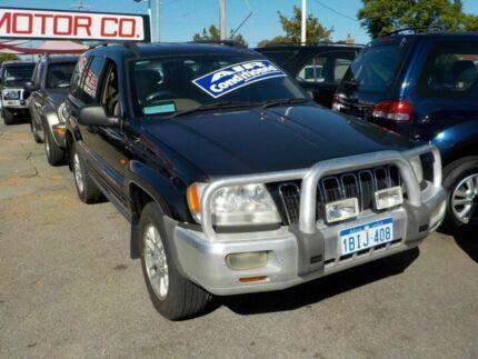 2003 Jeep Grand Cherokee WG MY2003 Limited Black 5 Speed Automatic Wagon
