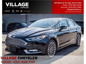 2017 Ford Fusion SE|AWD|NAV|LEATHER|BACKUP CAM