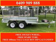 10x6 FULLY WELDED HOT DIP GALVANISED TRAILER, 2000KG ATM Marnoo Northern Grampians Preview