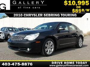 2010 Chrysler Sebring Touring $89 bi-weekly APPLY NOW DRIVE NOW