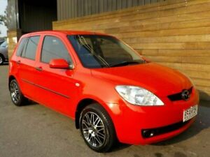 2006 Mazda 2 DY10Y2 Neo Red 4 Speed Automatic Hatchback Labrador Gold Coast City Preview