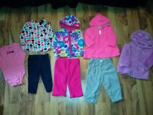 Girls Clothes Size 6-9/9/9-12 Months