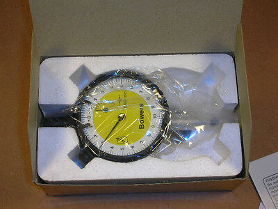 Fowler-bowers 52-540-004-0 Dial Indicator Gauge 2mm Ind Fbore Gg .002mm New