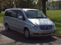 Mercedes-Benz Viano 2.2 CDI Ambiente Long MPV 5dr Diesel Manual Mini bus
