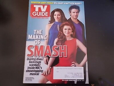 Smash  Debra Messing   Tv Guide Magazine 2012