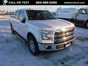 2017 Ford F-150 Lariat Crew Navigation Sync3, Heated/Cooled Seat