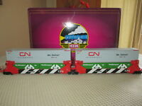 LIONEL - MTH O Guage Twin Stack Container Set