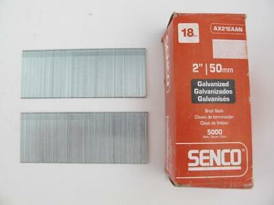 2000 Count Senco Galvanized 2.5 Angled Finish Nail Gun 16 Ga Nails Rh25eaa New