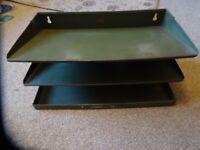 Vintage filing tray
