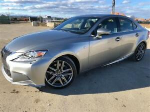 2014 Lexus IS 350 F Sport **Only 61,656kms** One Owner Loaded