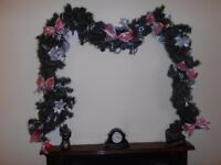 """Christmas Garland 8ft 4""""/254cm approx"""