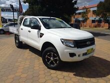 2012 Ford Ranger PX XL 2.2 (4x4) White 6 Speed Automatic Crewcab Belconnen Belconnen Area Preview
