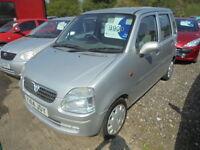 Vauxhall Agila 1.2 (silver) 2001