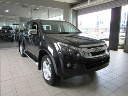 2014 Isuzu D-MAX TF MY15 LS-Terrain HI-Ride (4x4) Cosmic Black 5 Speed Automatic Crewcab Thornleigh Hornsby Area Preview