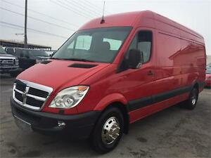 2007 DODGE SPRINTER 3500- DIESEL-EXTRA LONG WHEEL BASE-HIGHER RO