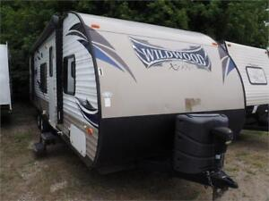 2015 FOREST RIVER WILDWOOD 281QBXL*BUNKHOUSE FOR SALE*SPECIAL
