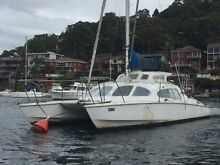 Iroquois 9.1 mtre production moulded grp cruising catamaran Gymea Bay Sutherland Area Preview