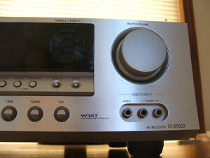 ONKYO TXSR-503 amplifier receiver REMOTE 5.1 Rhodes Canada Bay Area Preview