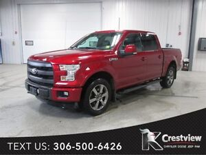 2015 Ford F-150 Lariat Crew Cab | Sunroof | Navigation
