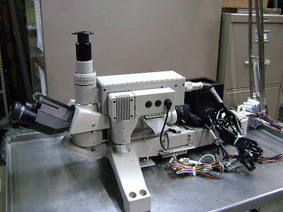 2639 Nikon Uw Wafer Inspection Microscope