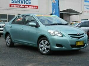 2006 Toyota Yaris NCP93R YRS Green 4 Speed Automatic Sedan Tuggerah Wyong Area Preview