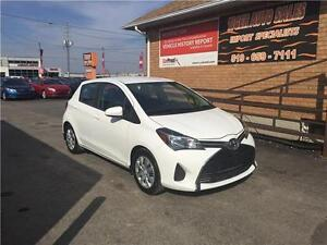 2015 Toyota Yaris LE**HATCH BACK*GREAT ON GAS**4 DOOR**BLUETOOTH