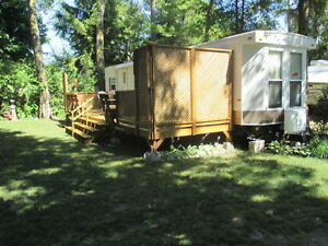 Trailer for sale at MacKenzie Tent & Trailer Park