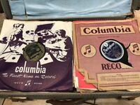 78s from back-in-the-day, including jazz, band and orchestral. More than 50 discs in a job-lot