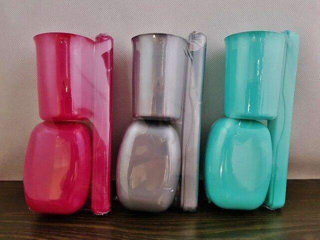 3er Reiseset Hygieneset: Zahnbürstenbox, Seifenbox, Becher / viele Farben - NEU