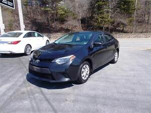2014 TOYOTA COROLLA...LOADED!! ONLY 54,000 KMS!!! APPLY TODAY!!
