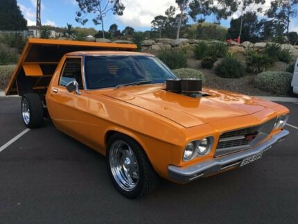 1973 Holden Holden HQ 1000KG 2M Orange 3 Speed Manual Tray