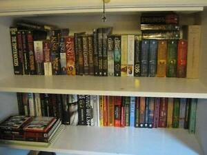 Large Book Collection (All books/authors listed) ~160+ Books.
