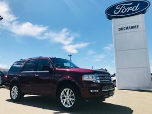 2015 Ford Expedition Limited, LOADED, Nav, DVD, Leather, 2nd Row