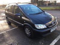 2003 Vauxhall Zafira Dti Turbo diesel 7 seater mpv
