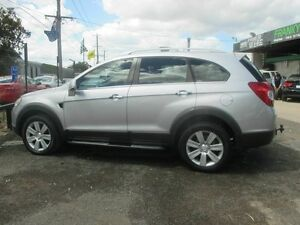 2007 Holden Captiva CG CX (4x4) Silver 5 Speed Automatic Wagon Werribee Wyndham Area Preview