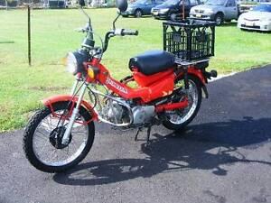 2002 Honda CT110 Postie Bike over 10 months rego East Maitland Maitland Area Preview