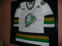 Autographed London Knights Jersey