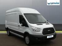 2015 Ford Transit 2.2 TDCi 125ps H3 Trend Van Diesel white Manual