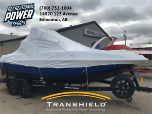 Boat Shrink Wrapping and Transhield Covers