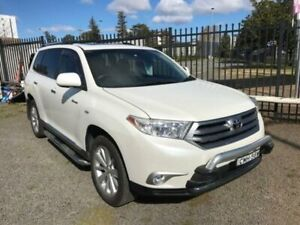 2012 Toyota Kluger GSU45R MY12 Grande White 5 Speed Automatic Wagon Penrith Penrith Area Preview