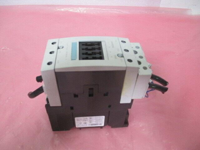 Siemens 3RT1046-1B Contactor, 3RT1046-1BB40, w/ 3RV1901-1J Aux Contact, 451374