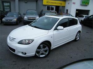 2006 Mazda 3 GT , TOIT OUVRANT , AUTOMATIQUE.