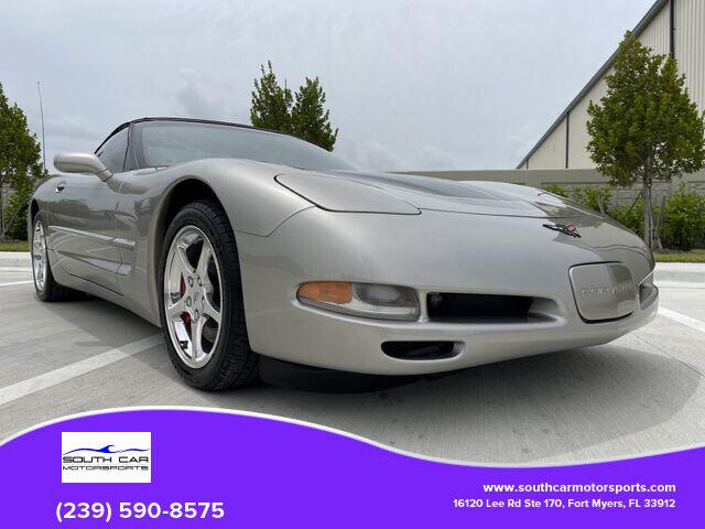 2002 PEWTER MATALIC Chevrolet Corvette Convertible    C5 Corvette Photo 1