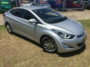 2015 Hyundai Elantra MD Series 2 (MD3) Active Special Edition Silver 6 Speed Automatic Sedan Dapto Wollongong Area Preview