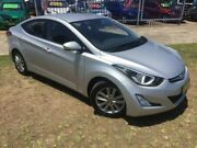 2015 Hyundai Elantra MD Series 2 (MD3) Active Special Edition Silver 6 Speed Automatic Sedan Brownsville Wollongong Area Preview